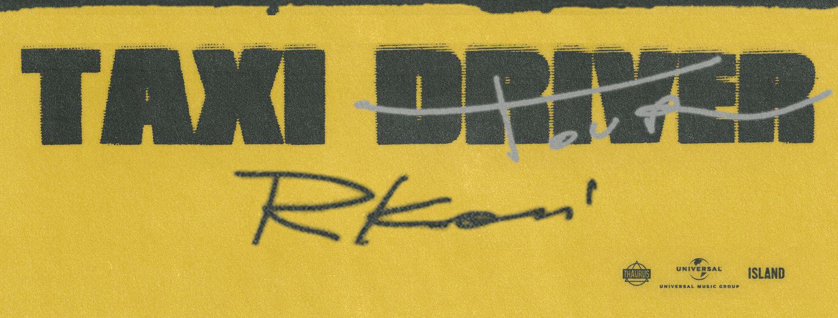 "RKOMI - ""TAXI DRIVER"" SUMMER TOUR 2021"